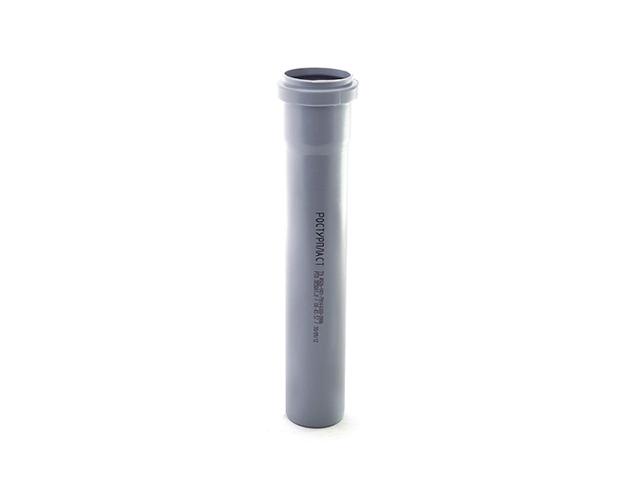 Труба для внутренней канализации 50х1,5х 250мм РосТурПласт (труба 50х250 мм) фото1