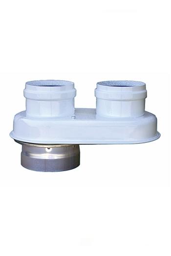 Адаптер для раздельного дымоудаления Bosch AZ 377 фото1