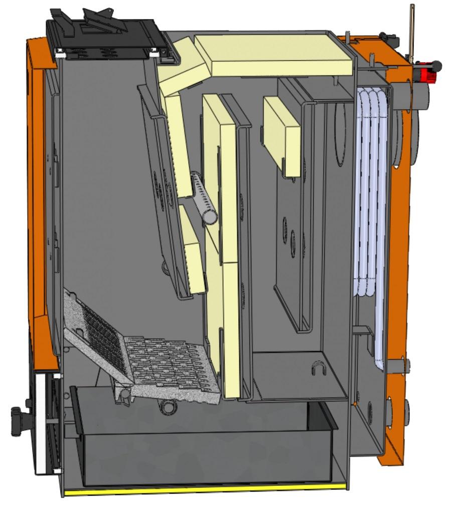 Твердотопливный котел OPOP H425 EKO фото2