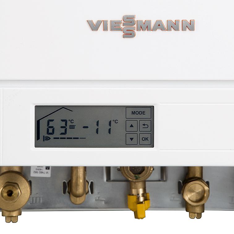 Конденсационный газовый котел Viessmann Vitodens 100-W 2-контурный фото3