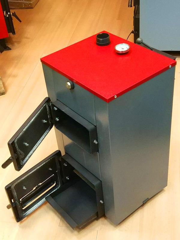 Твердотопливный котел Теплоприбор КС-Т фото1