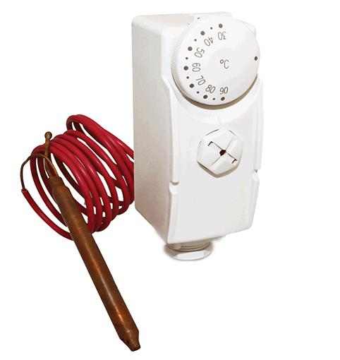 Терморегулятор с капиллярной трубкой Salus AT10F фото1