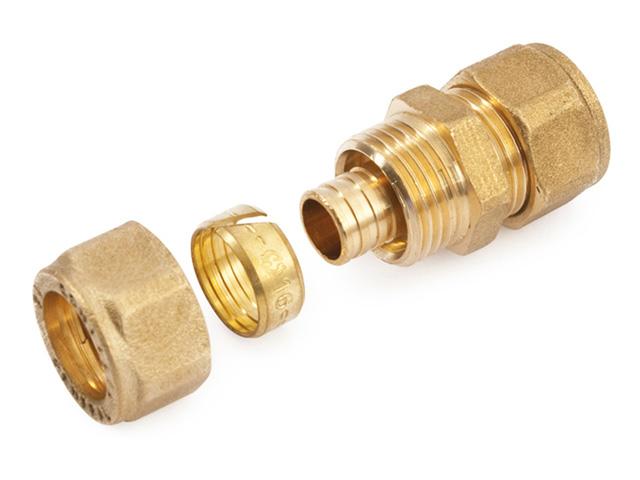 Муфта 16(2,0) для трубы PEX General Fittings фото1