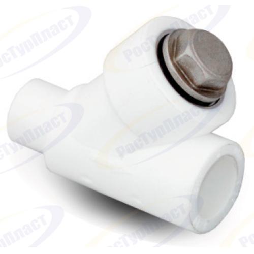 Фильтр ПП вн/нар 25х45 белый РосТурПласт фото1