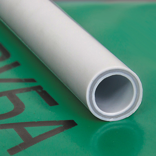 Труба ПП армированная стекловолокном 20х2,8 PN20 серыя 4 метра РосТурПласт фото1