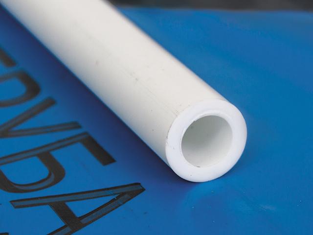 Труба ПП 40х6,7 PN20 белый РосТурПласт 4 метра фото1