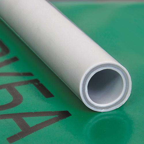 Труба ПП стекловолокно 20х3,4 PN25 серый РосТурПласт 4 метра фото1