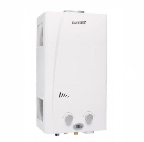 Газовый проточный водонагреватель Superlux DGI 10L CF NG фото1