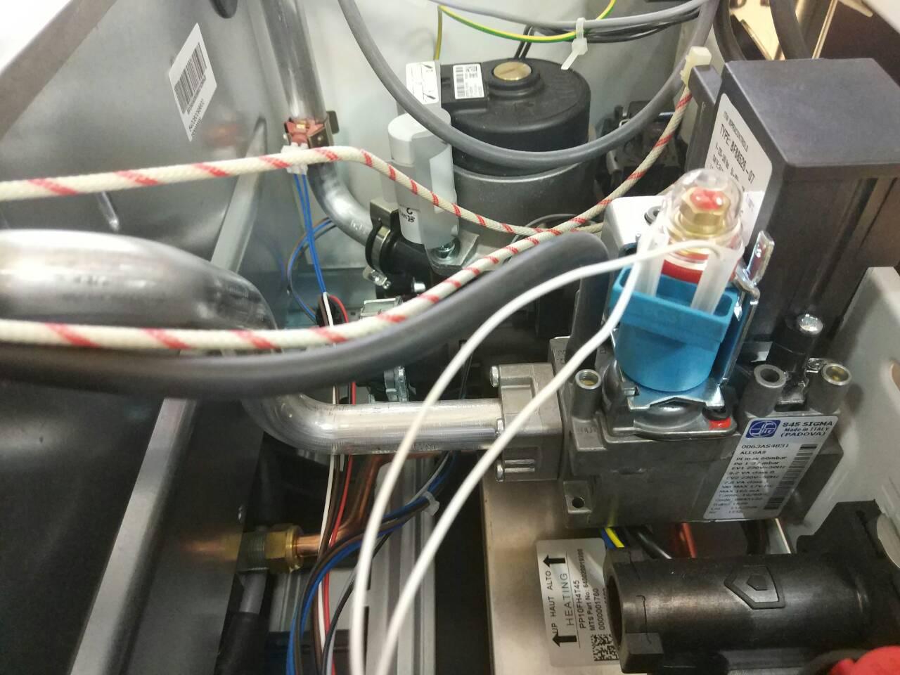 Газовый котел Ariston CARES X 15 FF NG фото5