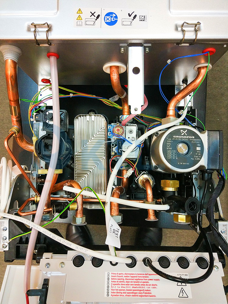 Газовый котел Bosch Gaz 7000 ZSC 28-3 MFA фото7