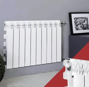 Радиатор алюминиевый Fondital MYTICO A3 500/100 10-секций  фото2
