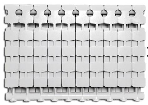 Радиатор алюминиевый Fondital MYTICO A3 500/100 10-секций  фото3