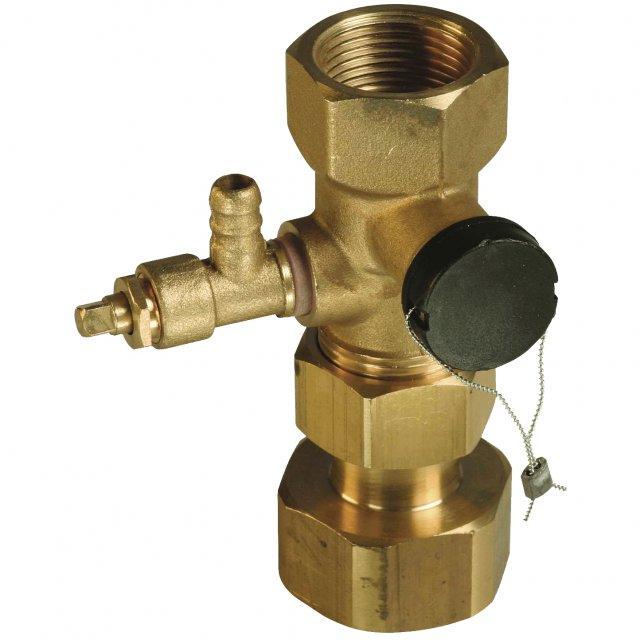 Клапан для подключения расширительного бака AFRISO ASK арт. 77924 фото1