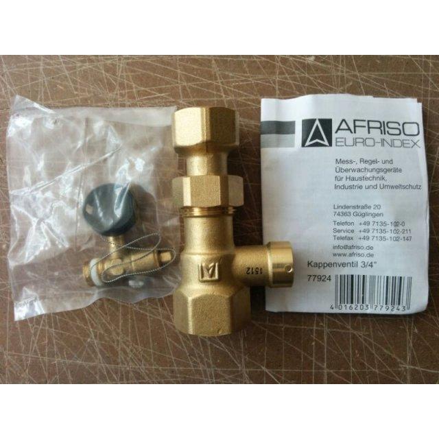 Клапан для подключения расширительного бака AFRISO ASK арт. 77924 фото2