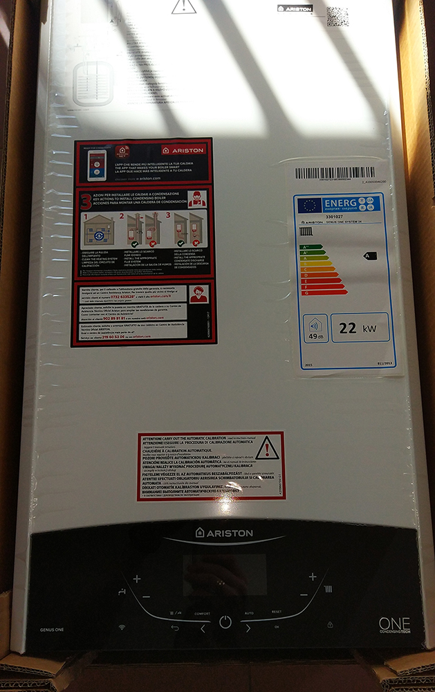 Конденсационный газовый котел Ariston GENUS ONE SYSTEM 1-контурный фото8