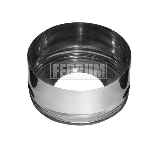 Заглушка c отверстием Ferrum AISI 430/0,5 фото1