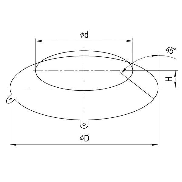 Фланец Ferrum AISI 430/0,5 фото2