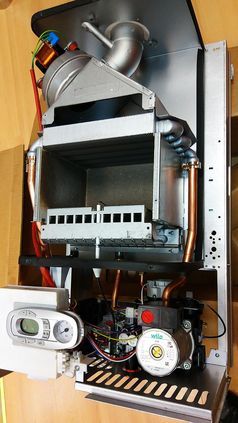 Газовый котел Ferroli Divatech D F24 фото4